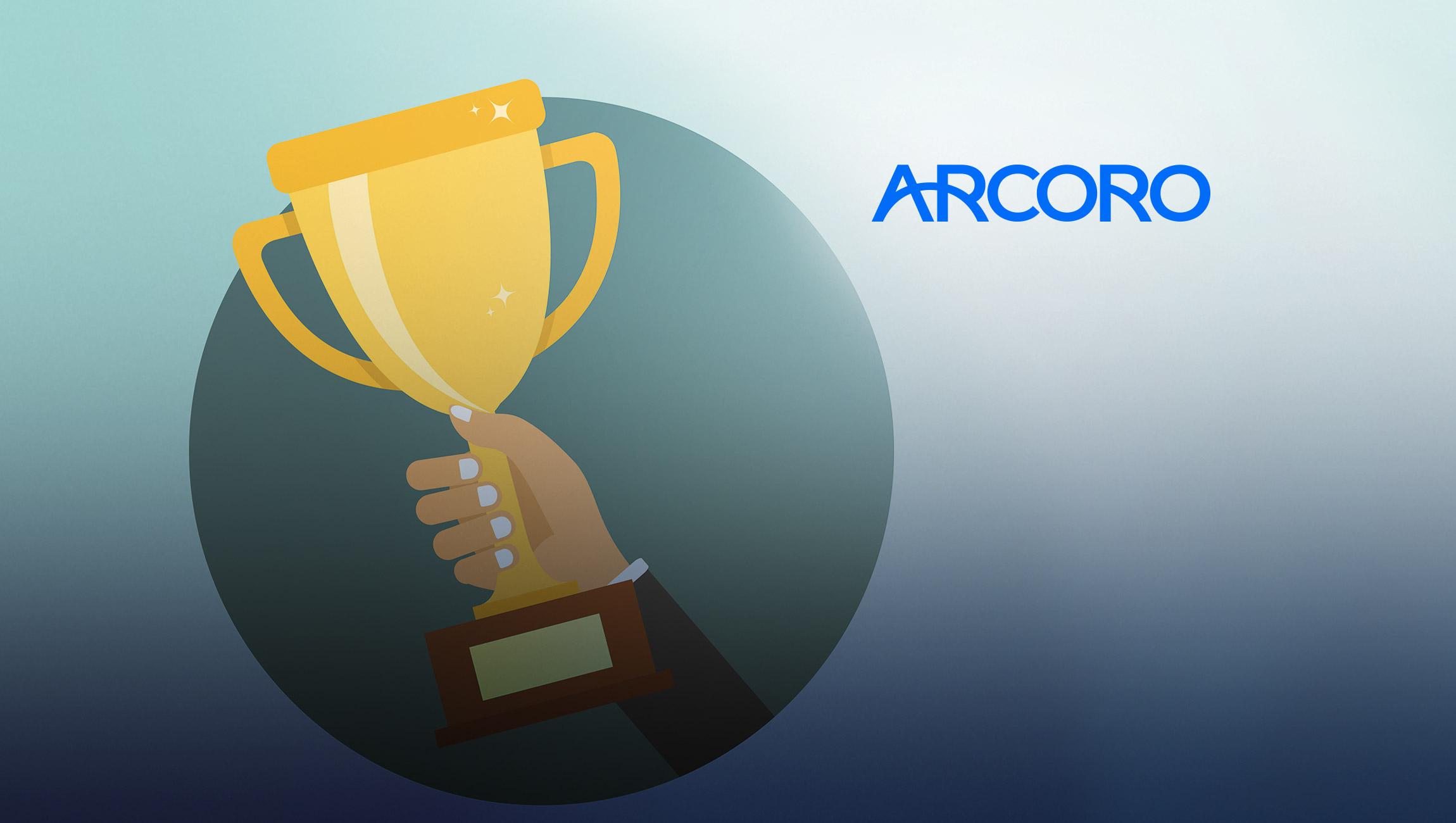 Arcoro Wins Two 2021 Stevie Awards